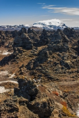 Paths through the Dimmuborgir - Dimmuborgir, Iceland