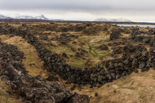 Volcanic fence - Iceland