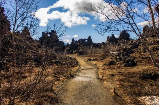 Gates of the Dimmuborgir - Dimmuborgir, Iceland