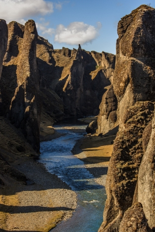 Fjaðrárgljúfur - Fjaðrárgljúfur Approach, Iceland
