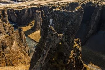 Fjaðrárgljúfur Tower - Fjaðrárgljúfur, Iceland