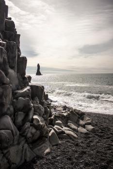 Basalt and Black Sand - Vík, Iceland
