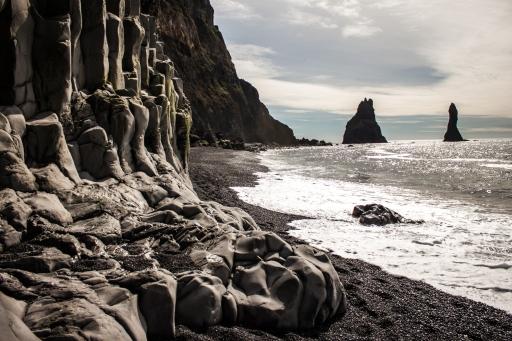 Basalt Columns - Vík, Iceland