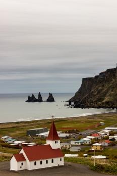 Vík Sea Stacks - Vík, Iceland