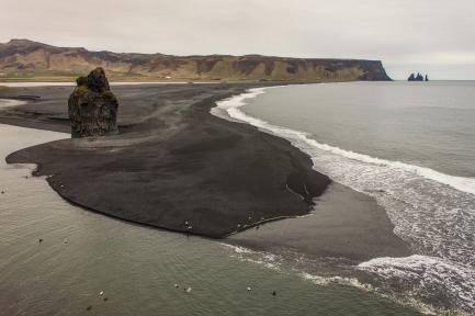 Black Sand Beach - Vík, Iceland