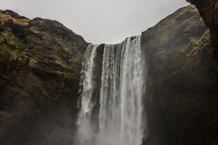 Skógafoss falls - Skógafoss, Iceland