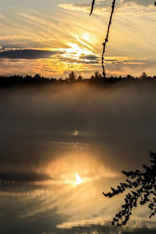Misty Morning - Bear Head Lake State Park, Minnesota