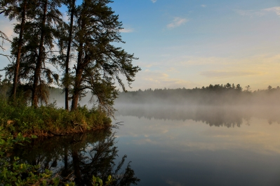Misty Lake - Bear Head Lake State Park, Minnesota