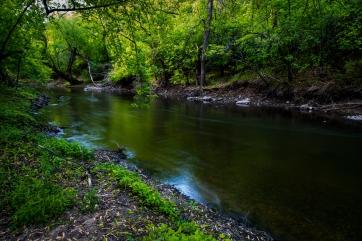 Reflecting River - Straight River, Owatonna, Minnesota