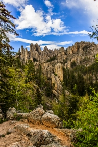 Path of Daggers - Needles Highway, South Dakota