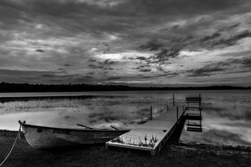 At the Lake - Dora Lake, Chippewa National Forest, Minnesota