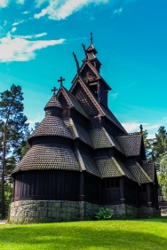 Gol Stav Church Series 1 - Norwegian Museum of Cultural History, Oslo, Norway