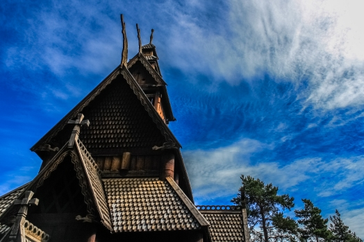 Gol Stav Church Series 3 - Norwegian Museum of Cultural History, Oslo, Norway