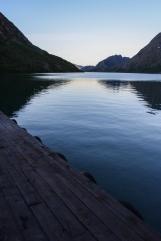 Glacial Lakeshore - Besseggen, Jotunheimen Mountains, Norway