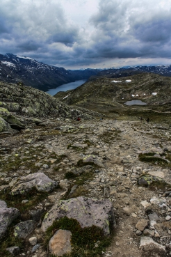 Besseggen Trail - Besseggen, Jotuneheimen Mountains, Norway