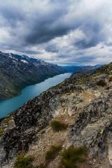 Besseggen View - Besseggen, Jotuneheimen Mountains, Norway