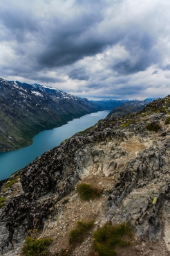 Besseggen View - Besseggen, Jotuneheimen Mountains, Norway