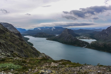 Glacial Lakes - Besseggen, Jotuneheimen Mountains, Norway