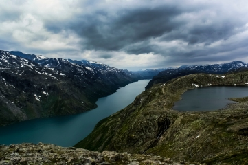 Besseggen - Besseggen, Jotuneheimen Mountains, Norway