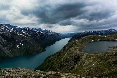 Besseggen - Besseggen, Jotuneheimen Mountains, Norway