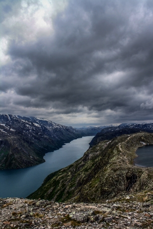 View from Besseggen - Besseggen, Norway