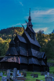 Borgund Stav Church Series 3 - Borgund, Norway