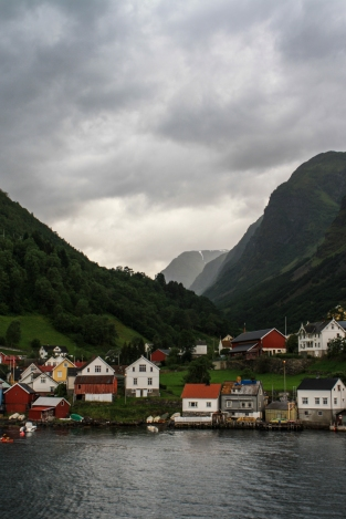 Village on the Sognefjord - Sognefjord, Norway