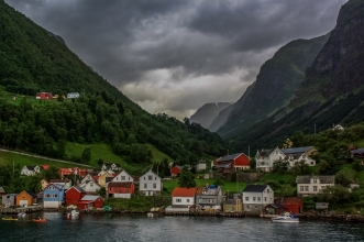 Norwegian Village - Sognefjord, Norway
