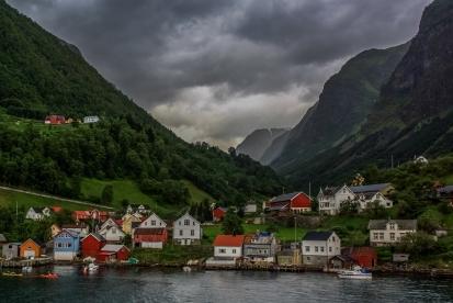 Norwegian Village - Sognefjord, Norway