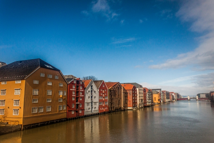 Waterfront - Trondheim, Norway