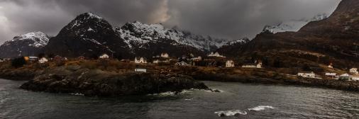 Panoramic Moskenes - Moskenes, Lofoten, Norway