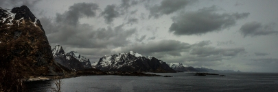 Endless Mountains - Lofoten, Norway