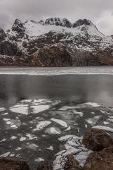Breaking Ice - Lofoten, Norway