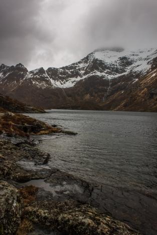 Mountain Lake - Lofoten, Norway