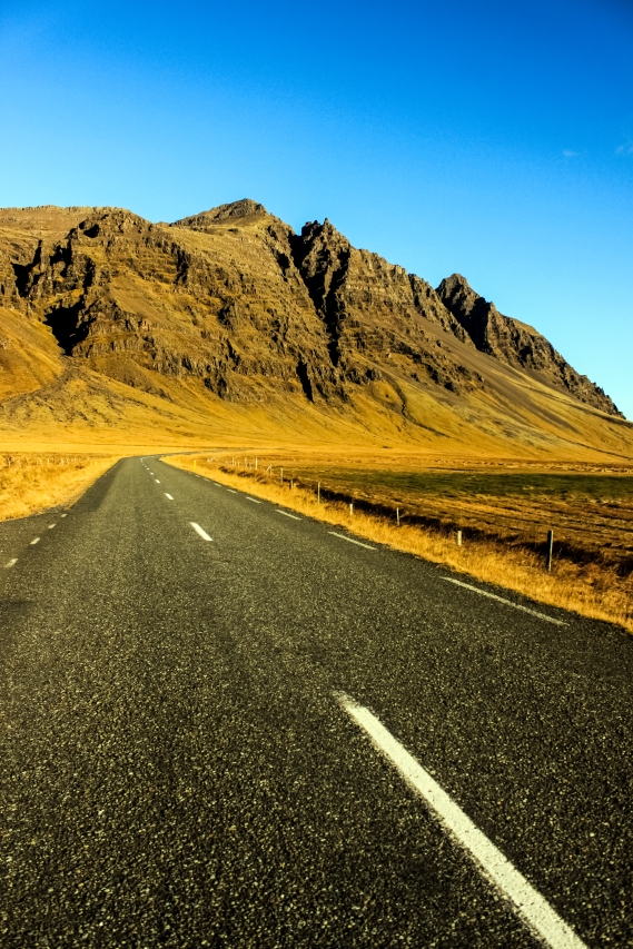 Road to the Mountains - Iceland