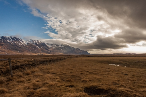 Mountain Range - Iceland