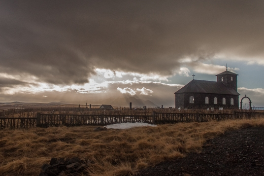 Chapel on the Heath - Þingeyrarkirkja, Iceland