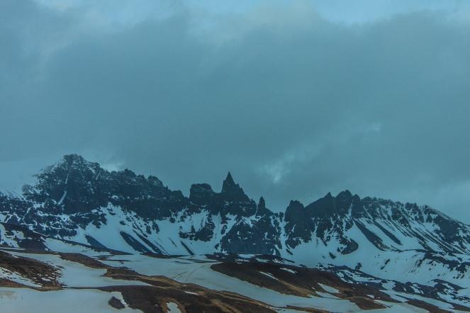 Jagged Peaks - Iceland