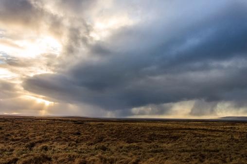 Rain clouds - Iceland