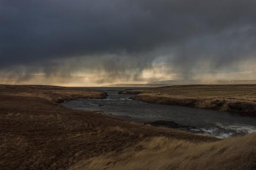 Evening Rain - Iceland