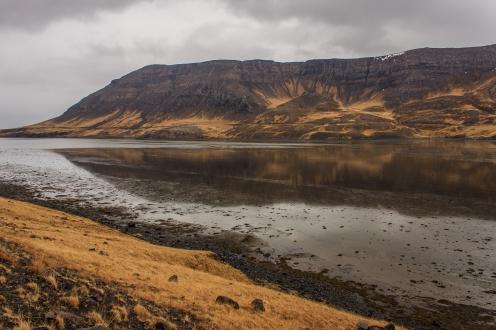 Reflecting Cliffs - Iceland