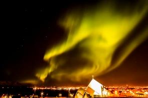 Lights over Reykjavík - Reykjavík, Iceland