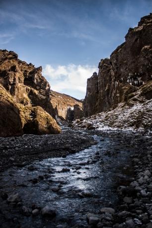 Valley through Þórsmörk - Þórsmörk, Iceland