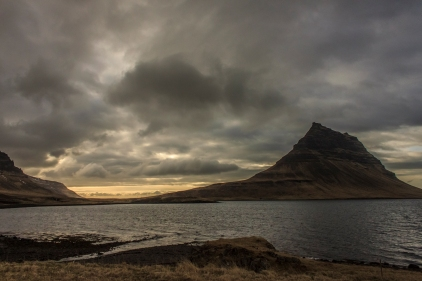 Mountain by the sea - Iceland