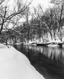 Winter River - Straight River, Owatonna, Minnesota