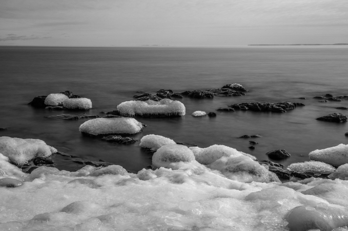 Frozen Shore Series 1 - Lake Superior, MN