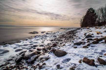 Frozen Shore Series 3 - Lake Superior, MN