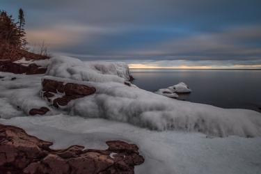 Frozen Shore Series 6 - Lake Superior, MN