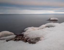 Frozen Shore Series 7 - Lake Superior, MN