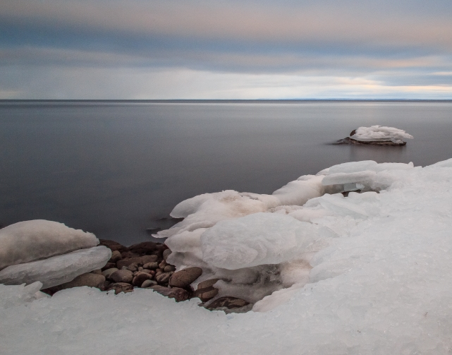 Frozen Shore Series 7 - Lake Superior, MN